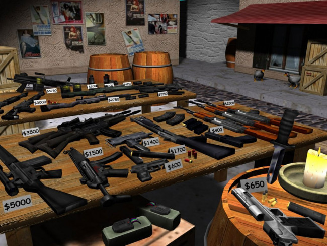 Counter Strike 1.6 - самый известный шутер.